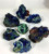Wholesale Excellent Natural Azurite and Malachite Crystal Mineral Samples