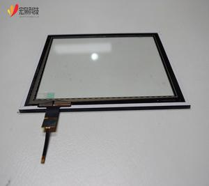 Custom 8 inch usb/IIC Open Frame capacity touch screen panel support water, glove, oil touch