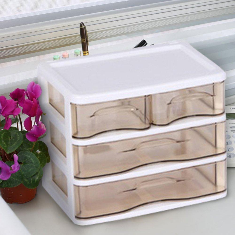 creative makeup storage box/ cabinets and drawer/ plastic lockers-I