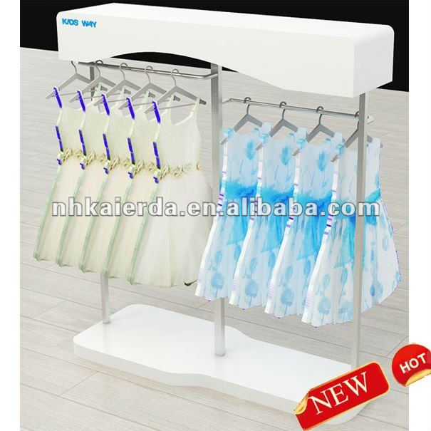 f04fc3fce new cheap wooden children clothes store rack and stands, ,kids clothes  display rack and
