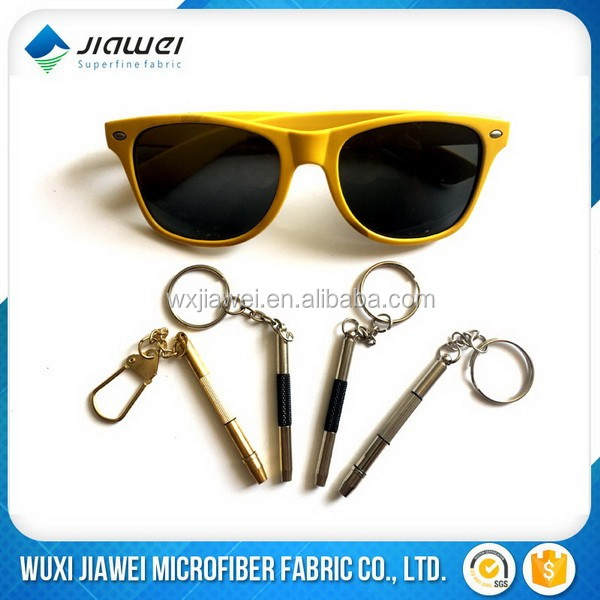 glasses and mobile screwdriver