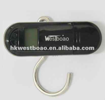 50kg/100g portable mini electronic luggage scale