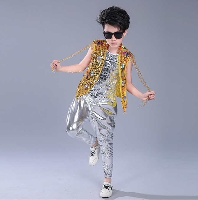 JAZZ dance costume boys lighting