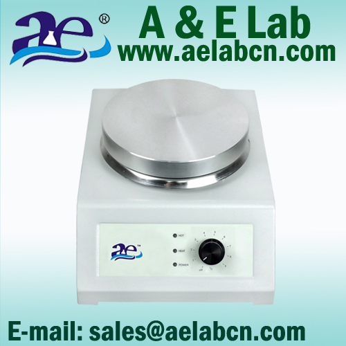 high quality Laboratory Hotplate with HOT indicator warning