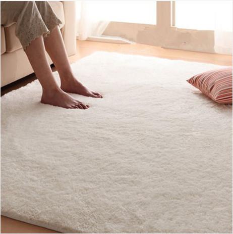 Hu0026h Super Soft European Style Woollen Plush Rug Non Slip Carpet Bedroom Sitting Room Area