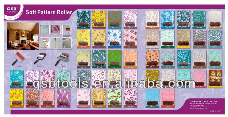 Soft Pattern Paint Roller Buy Painting Rollerdecorative Paint
