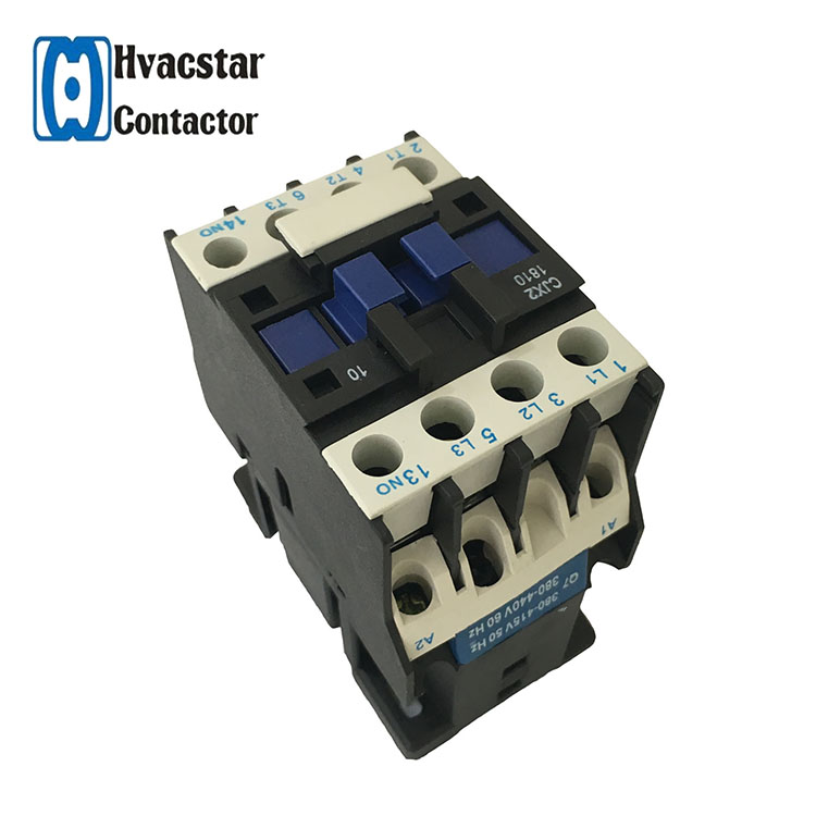 AC Contactor AC110V Coil 18A 3 Pole NO+1NC Auxiliary Contact LC1D1801 CJX2-D1801