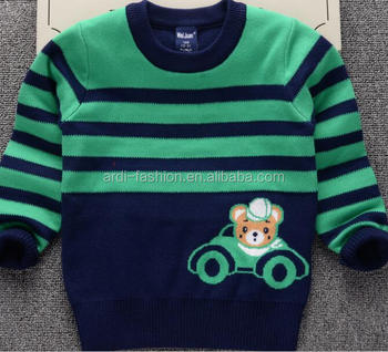 1180b730b New Stylish Design Baby Boys Cute Cartoon Bear Pullover Sweater ...
