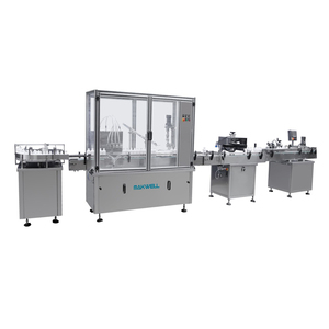 Professional Manufacturer beverage filling automatic liquid packing machine for small bottle