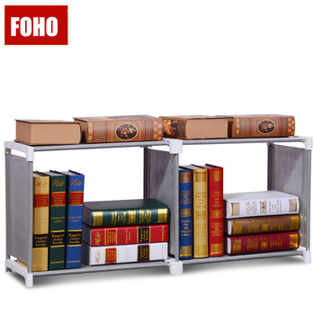 Small Portable DIY Easy Bookshelf In Fabric Cloth