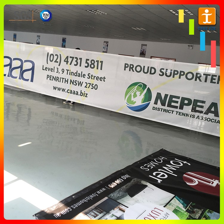 handmade Mesh advertising PVC flex banner Vinyl
