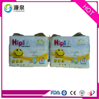 Organic cute printed pampering adult baby diapers manufacturer in China