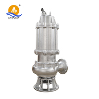 "Small Electric motor 1"" Inch submersible sewage grinder pump"