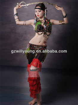 0da2ec98a 2014 Newest Egyptian Belly Dance Tribal Costume Hot Belly Dance Sexy ...