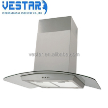 2017 Best price island range hood/kitchen cooker hood EC2519A-S made in china for sale