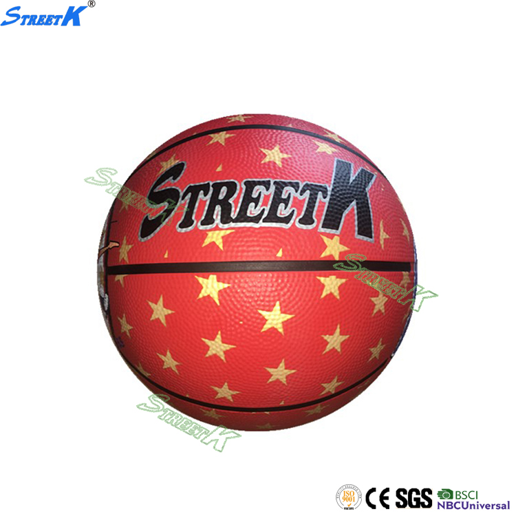 streetk Cheap Colors rubber customize your own basketball size 3