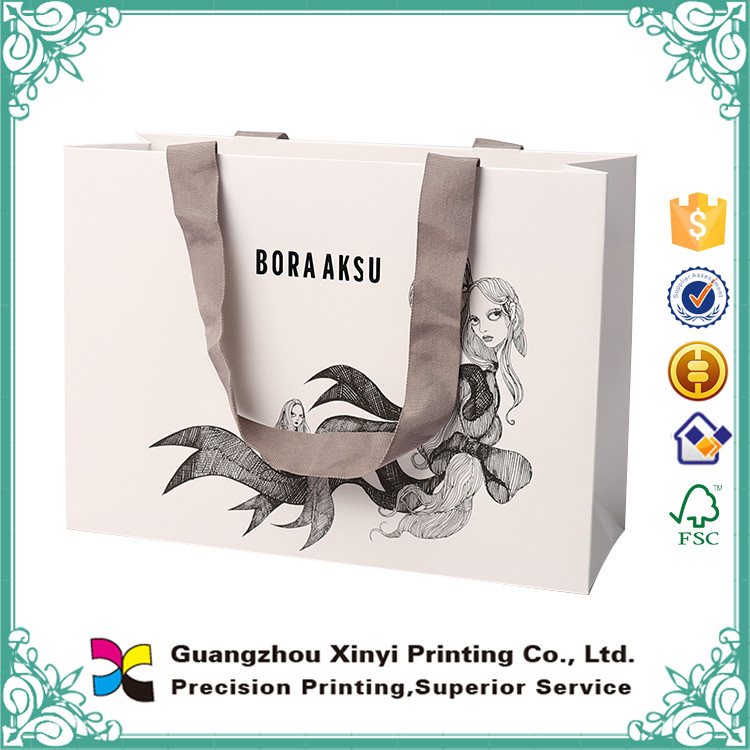Rice Wax Food Packaging Paper Bag With Window