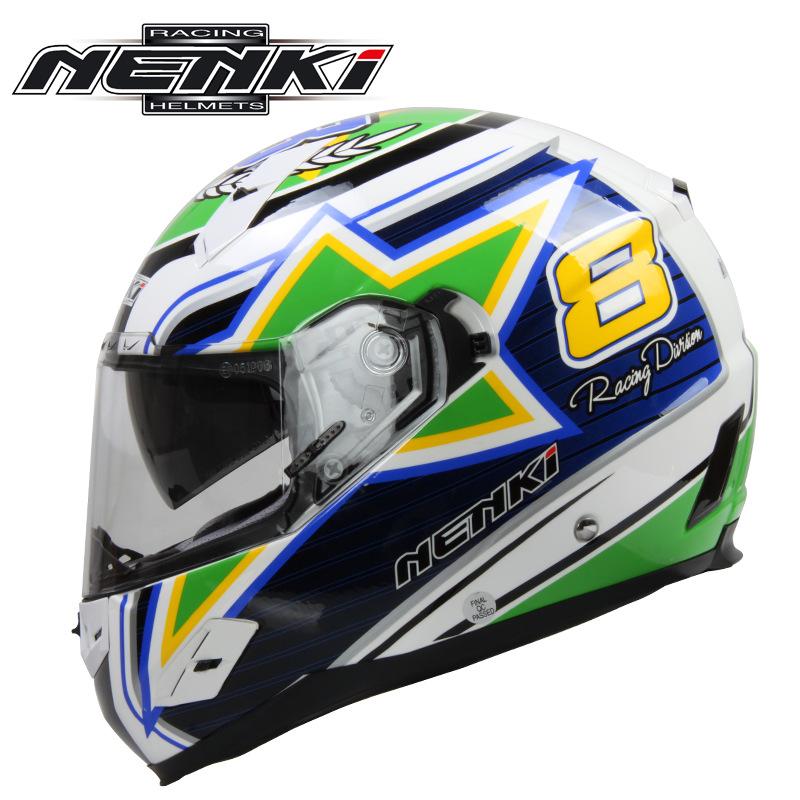 В новой nenki гонки на мотоциклах шлем мужской объектив antifogging стекло стальной шлем согреть локомотив