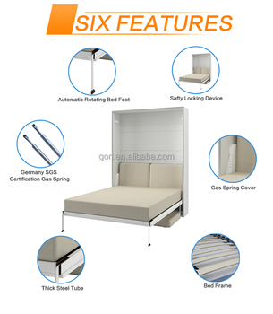 High Quality Hot Sell Malta Murphy Bed,Italian Wall Bed,Modern