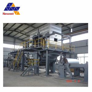 low price toilet roll and kitchen roll lamination rewinder/5 ton paper making machine/paper making plant