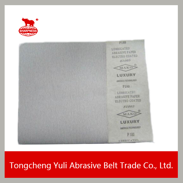 dry sanding paper for auto