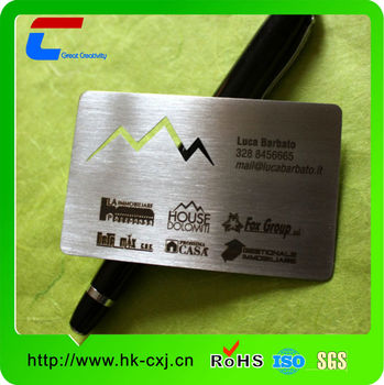 2014 new business card metal name card words embossed metal business 2014 new business card metal name card words embossed metal business cards reheart Images