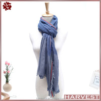 New Year Gift Fashion Winter Pashmina Men Scarves With Tassels