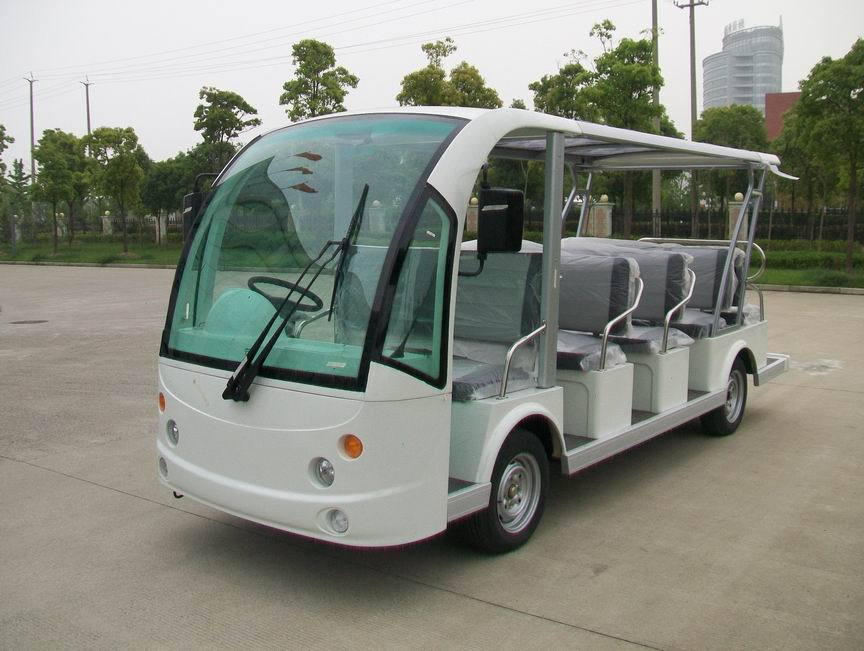 High Quality 14 Seater Electric Tourist Bus Sightseeing