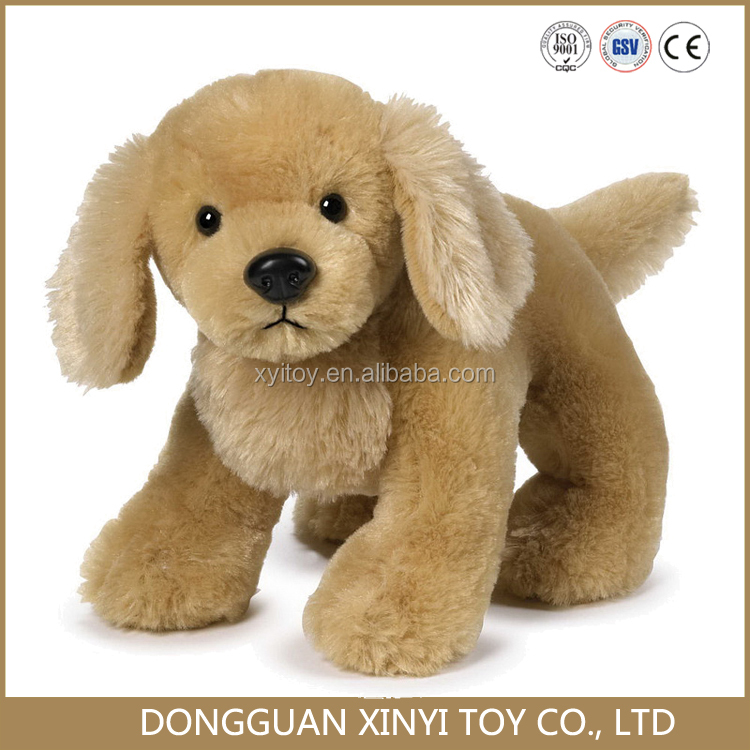 Cheap Custom plush dog labrador puppies toy for sale