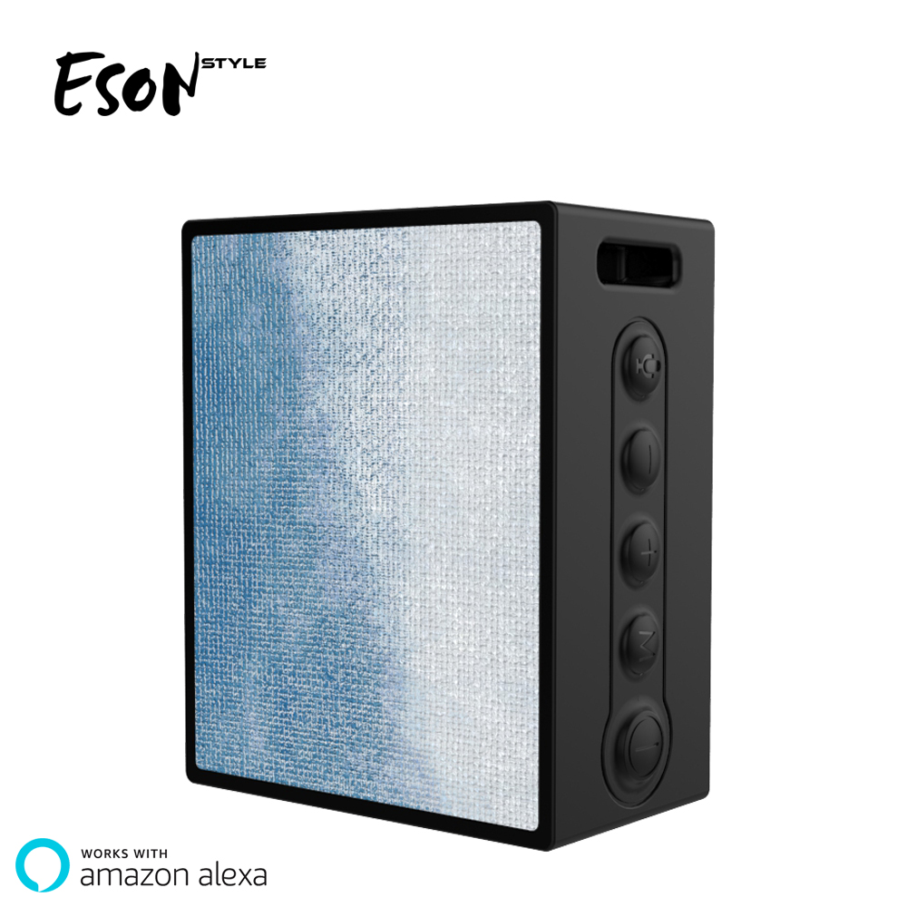 Eson Style Wireless Wi-Fi Smart Alexa <strong>Speaker</strong> Voice Control Wifi <strong>Speaker</strong> 1000mAh Bluetooth <strong>Speaker</strong>