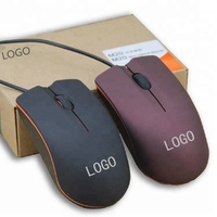 3D Wired USB Optical Mouse for Office, Promotion, OEM M6803 1.2M cable