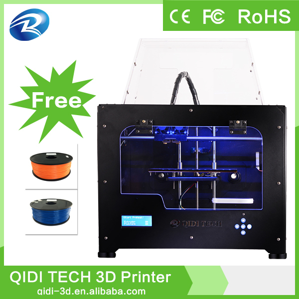 Dual extruder qidi 3d printer for sale,3d house printer,printers 3d models
