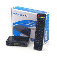 High quality Freesat V7 hd satellite receiver/mini satellite receiver hd biss key dvb-s2