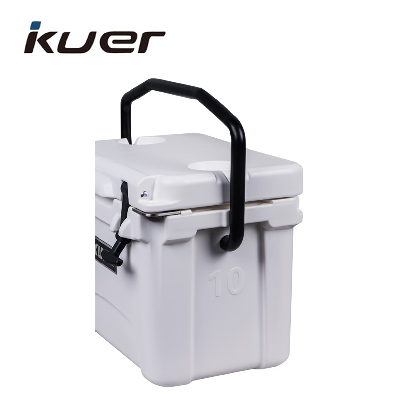 10QT cheap roto mold cooler box with bottle opener