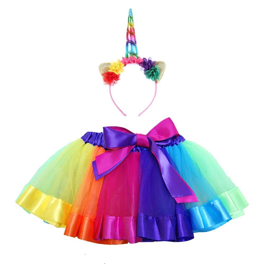 SK Studio Girl /& Teen Tulle Tutu Skirt For 4-8 Years