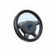Universal 38cm Breathable Anti-slip Protector PVC Leather Car Steering Wheel Cover