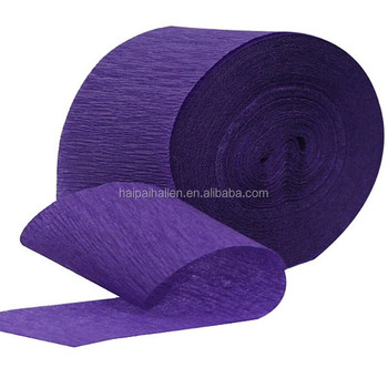 Jumbo Roll Streamers Crepe Paper 81 Feet for baby shower decoration