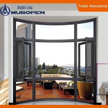 Fenster Design | Doppel Galzing Fenster Aluminium Gebogenen Schiebefenster Design