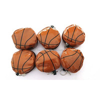 Fashion basketball volleyball shopping bag with leather pouch