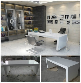 Elegant Modern Office Table Design/solid Surface Executive Ceo Office Desk  - Buy Office Table,Office Table Design,Executive Office Table Product on ...
