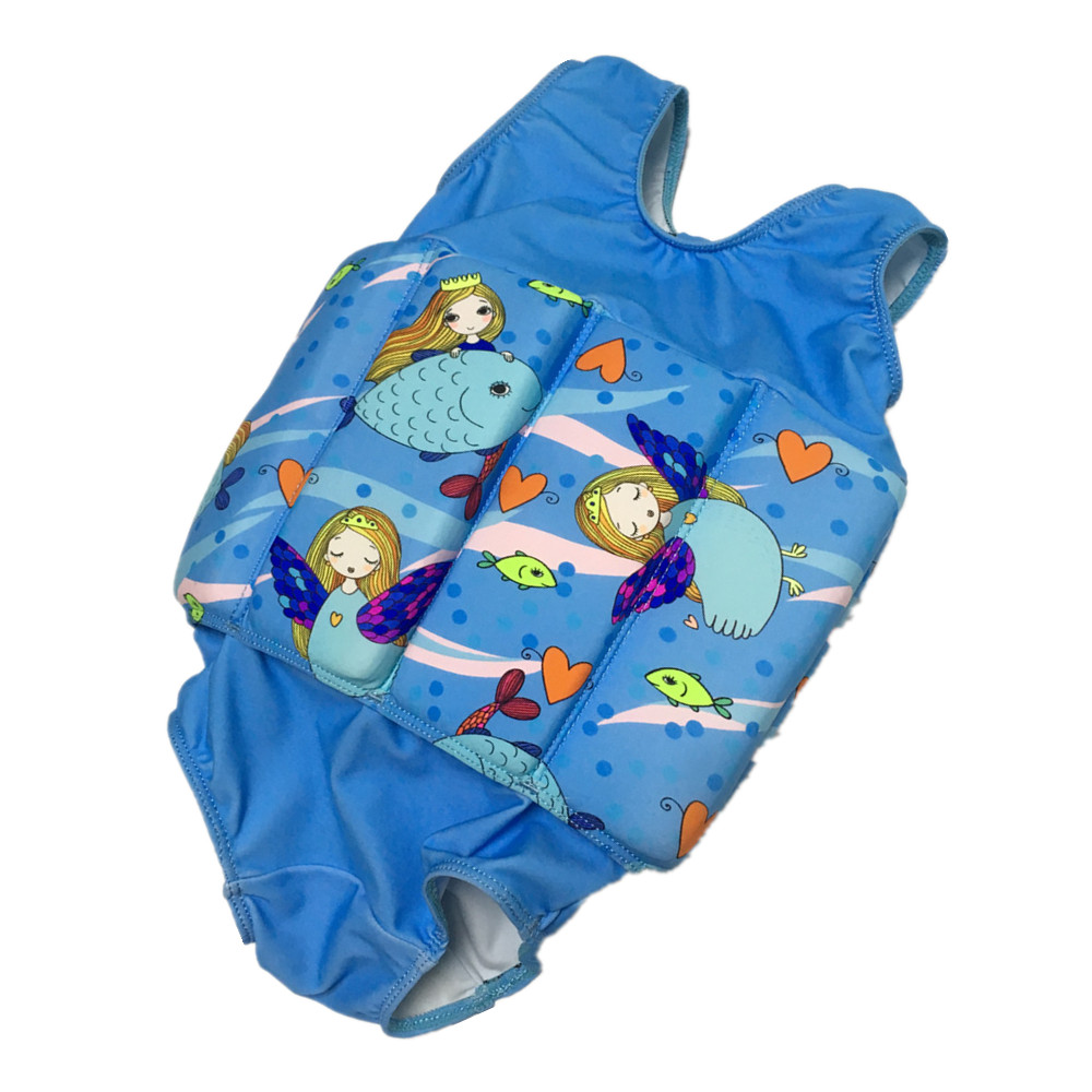 Toddler Floating Swimsuit Pool Swimming Trainer Baby Float Suit