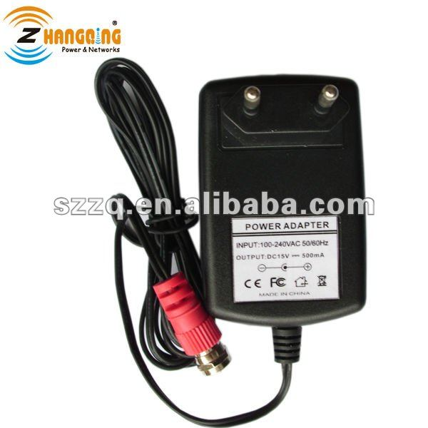 TV antenna 15v switching power supply with F-type