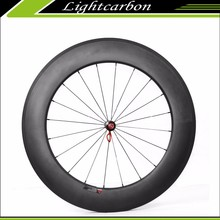 Carbon Fiber Bike Wheels 240S-880C with Profile 88mm Clincher / Tubeless DT240 Hubs LIGHTCARBON High Profile light 700C Whee
