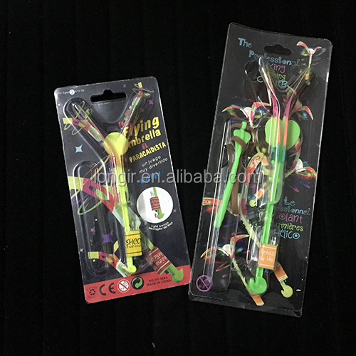 High quality blist pack LED flashing rocket copter
