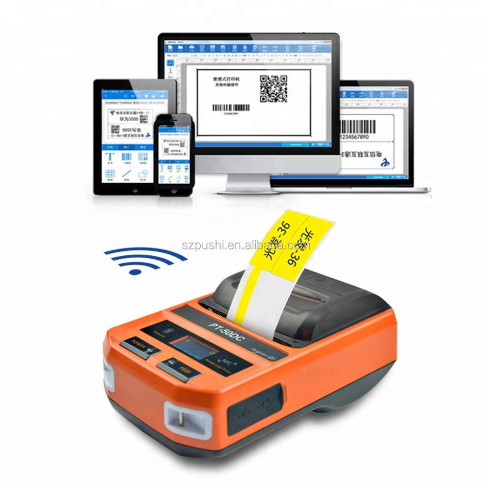 PUTY PT-50DC mini tragbare bluetooth mobile thermische drucker mit android