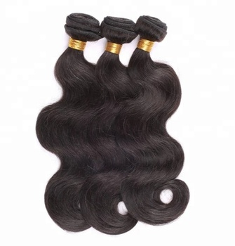 Big stock 100% unprocessed virgin body wave hair weaves indian human hair bundles
