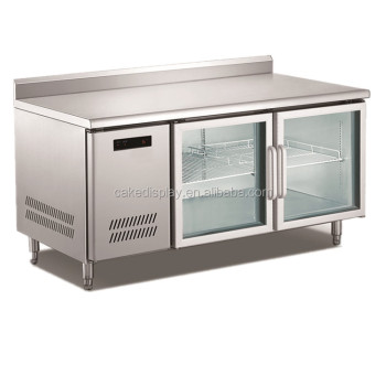Double Glass Door Under Counter Fridge Price Buy Glass Door Fridge