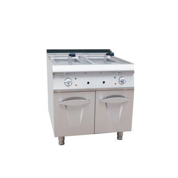 SUS304 stainless steel double fryer electric, KFC fried chicken machine