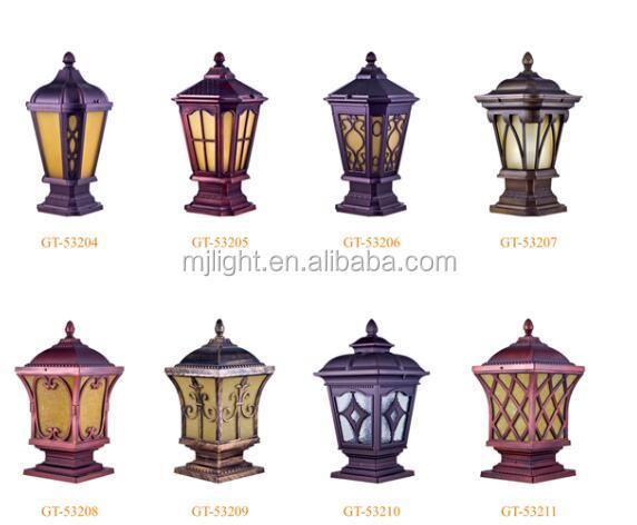 Pillar Fence Lamp Post Gate Light