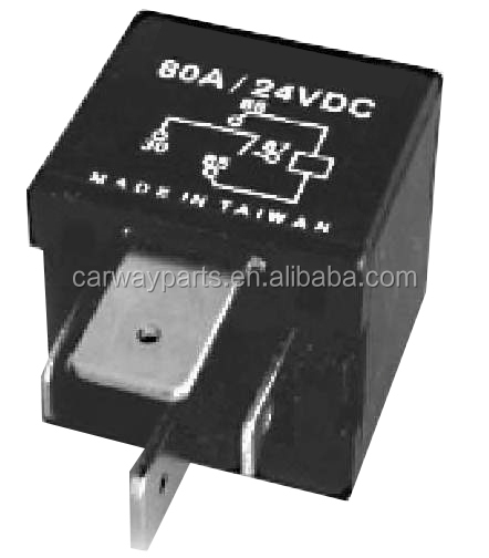 Oe#1543731 Power Pump Relay Cw-tr0625 24v 6p Relay 80a 1a For ...